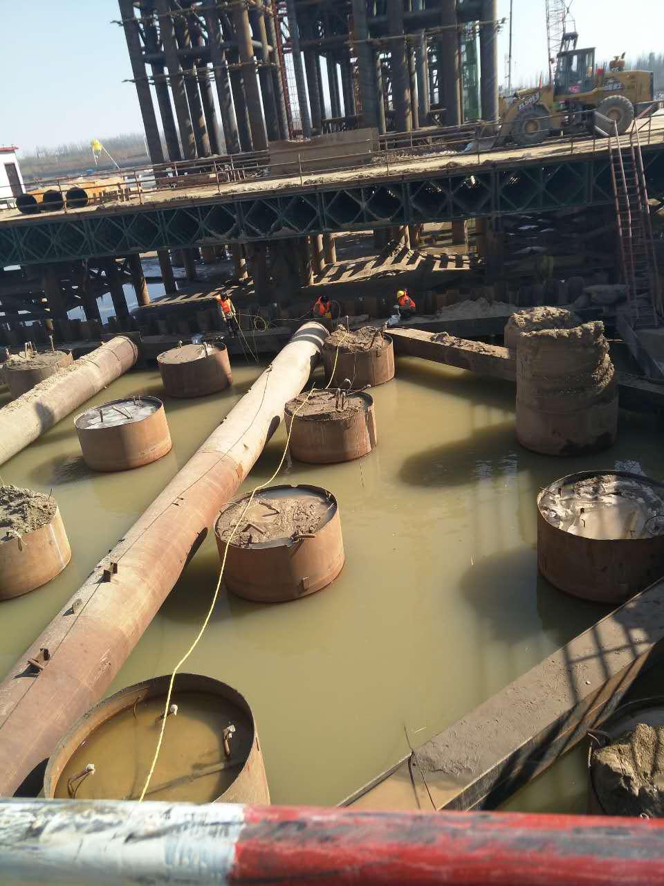钢围堰水下切割