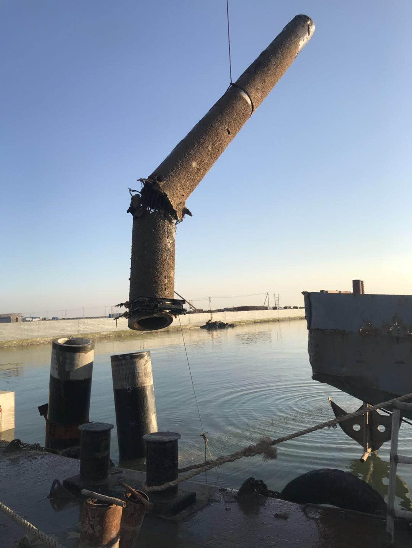 钢管桩潜水切割