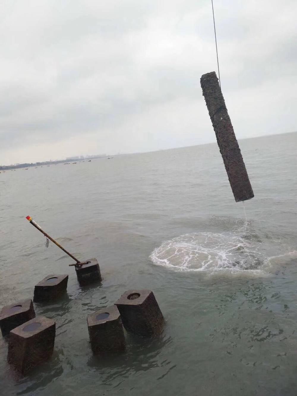 钢管桩水下拆除