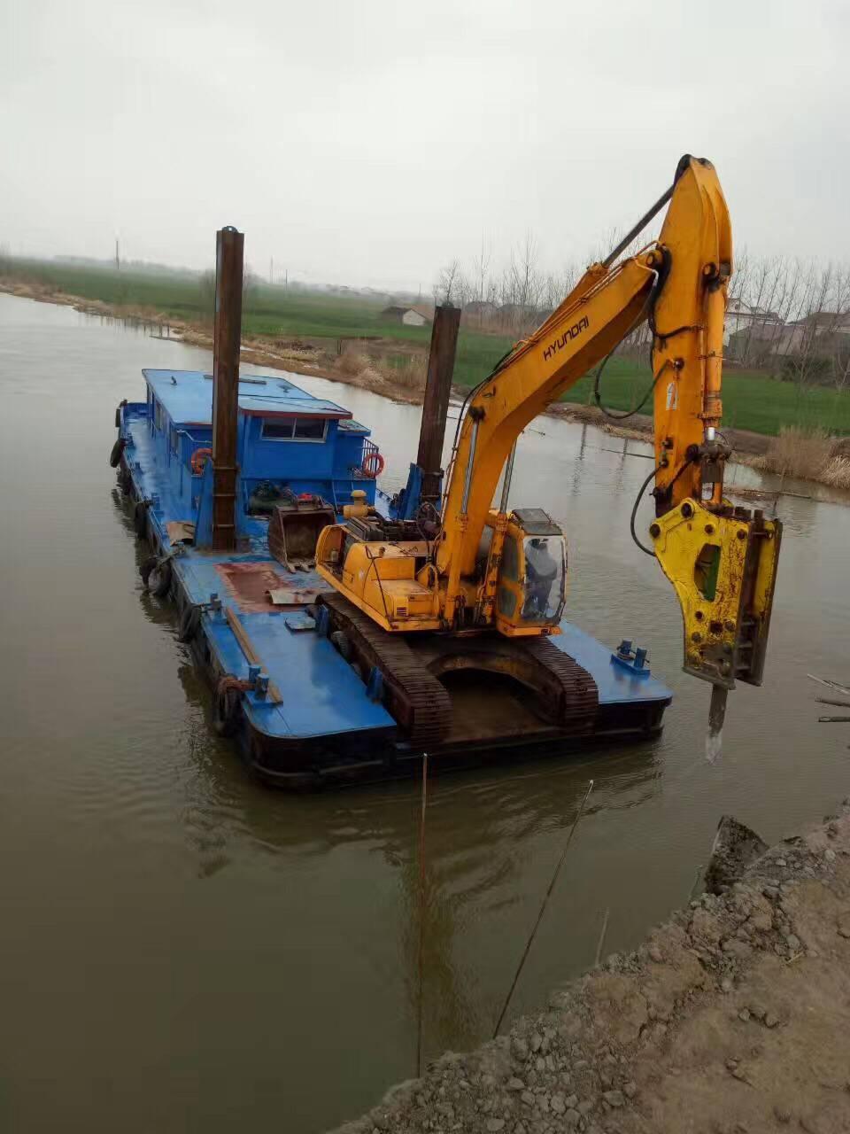 大桥围堰水下拆除