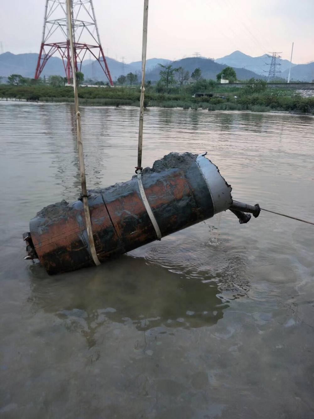 水下桥墩拆除