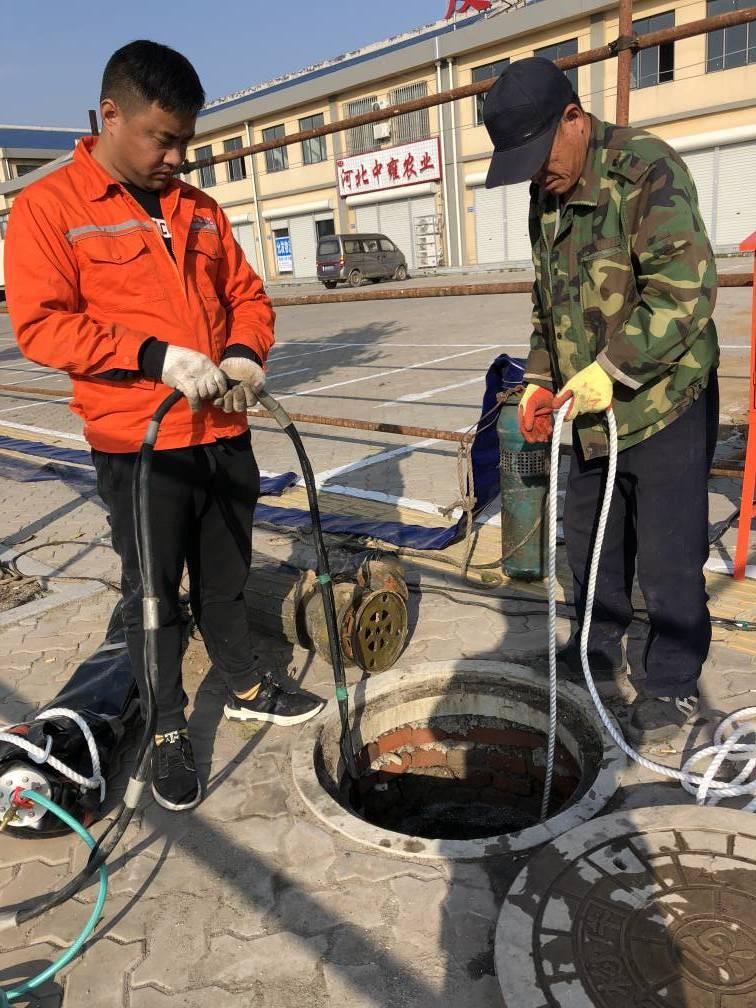 污水管堵水施工