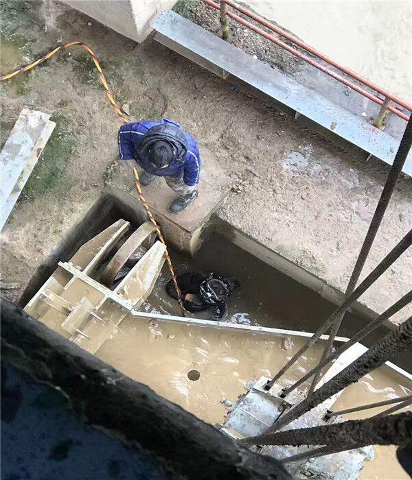 水电站水下堵漏