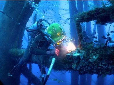 水下阳极焊接