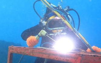 水下湿法焊接